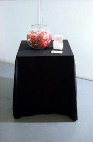 susan pui san lok, My Heart Your Sleeve, 2000 (installation view)