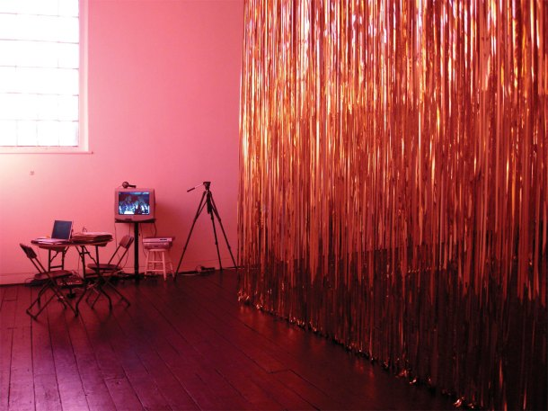 susan pui san lok, Golden (Lessons), 2006 (installation view, Beaconsfield)