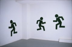susan pui san lok, Wait (Walk/Don'tWalk), 2000 (installation view)