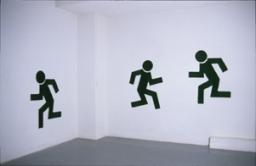 susan pui san lok, Wait (Walk/Don'tWalk), 2000 (installation view)