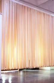 susan pui san lok, Wall, 2000 (installation view)