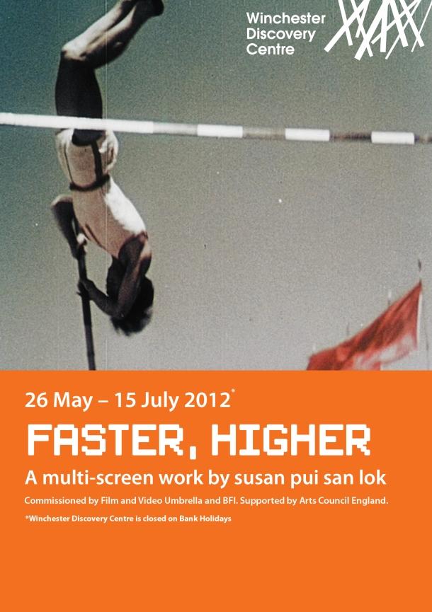 """""""susan pui san lok"""", """"Faster Higher"""""""