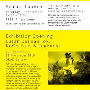 FANS & LEGENDS – QUAD Exhibitions & Season Launch – 19 Sept2015