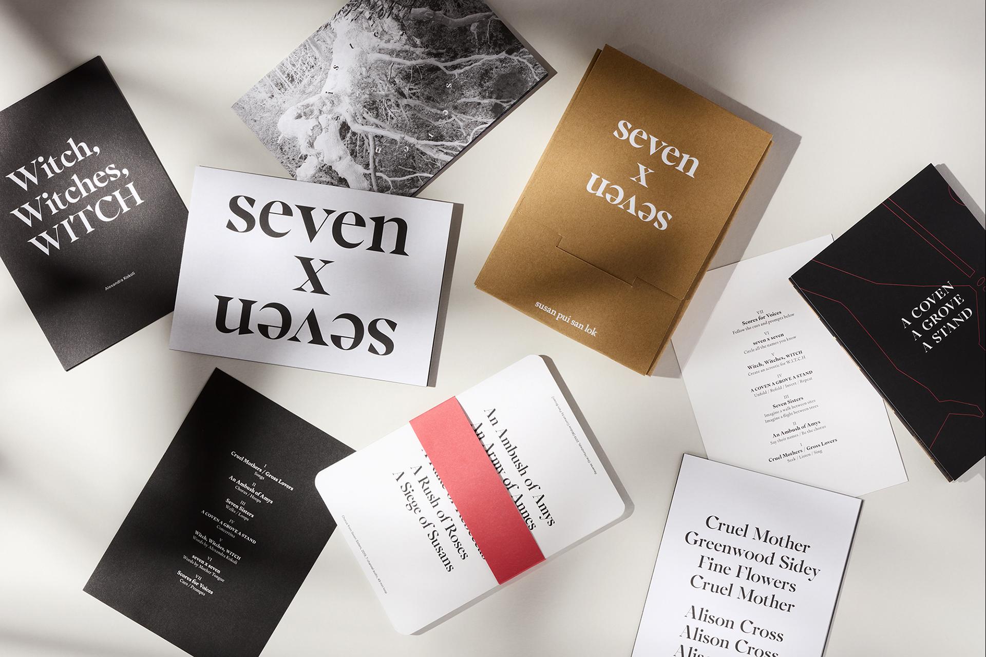 susan pui san lok, 2021, seven x seven, limited edition multiple, various dimensions. Image courtesy of Land of Plenty